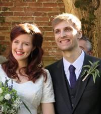 Bryony & Alex wedding day