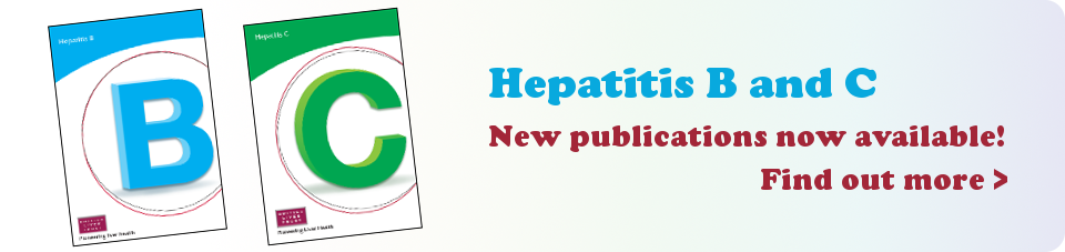 Hep B C new pubs homepage banner